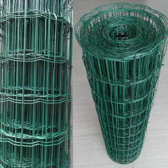 Оградни мрежи с PVC покритие